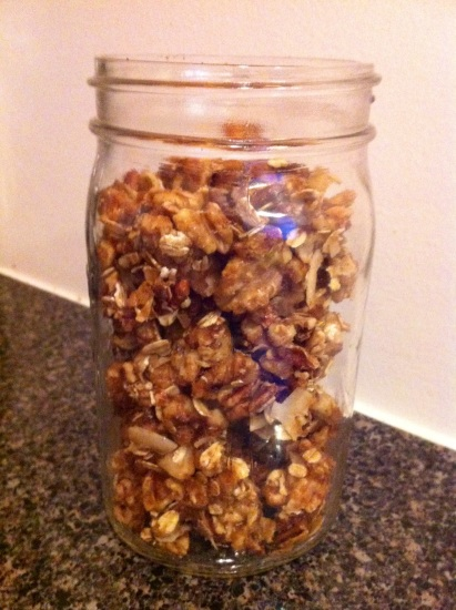 Granola Nut Clusters3