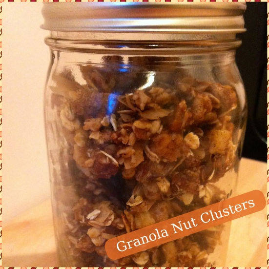 Granola Nut Clusters1