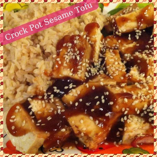 Sesame Tofu via Fitful Focus
