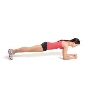 low plank via fitful focus