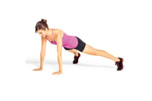 high plank via fitful focus