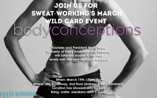 Sweat Working Invite
