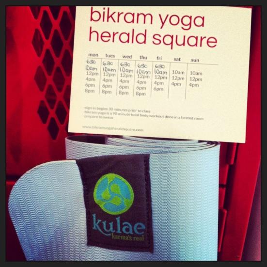 Bikram Yoga Herald Square via Fitful Focus