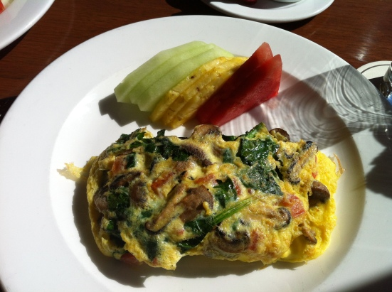 LA omelette