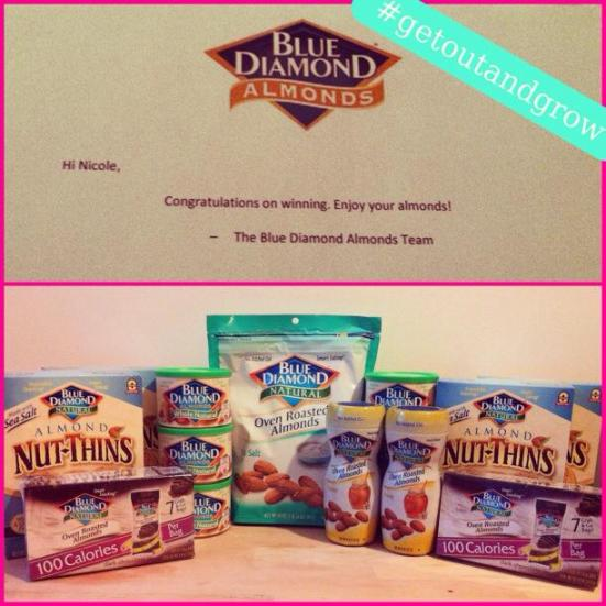 Blue Diamond Almond Goodies via Fitful Focus