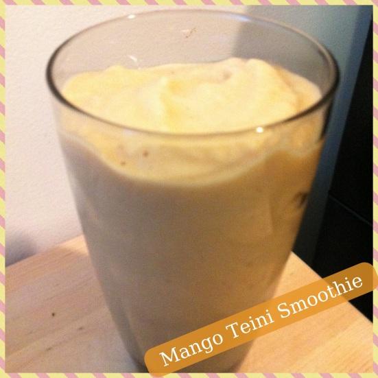 Mango Teini Smoothie via Fitful Focus
