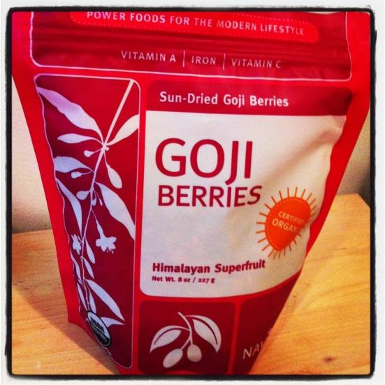 Goji Berries via Fitful Focus