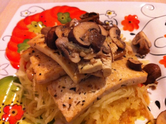 Totally Tasty Tofu Marsala via Fitful Focus