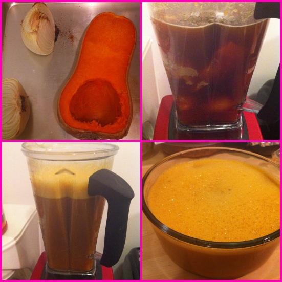 Butternut Squash Detox Soup via Fitful Focus