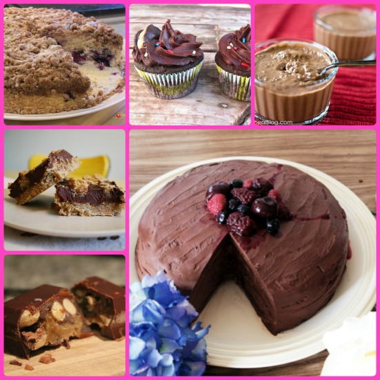 Desserts from Virtual Vegan Potluck via Fitful Focus