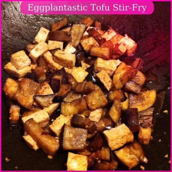 Eggplantastic Tofu Stir-Fry via Fitful Focus