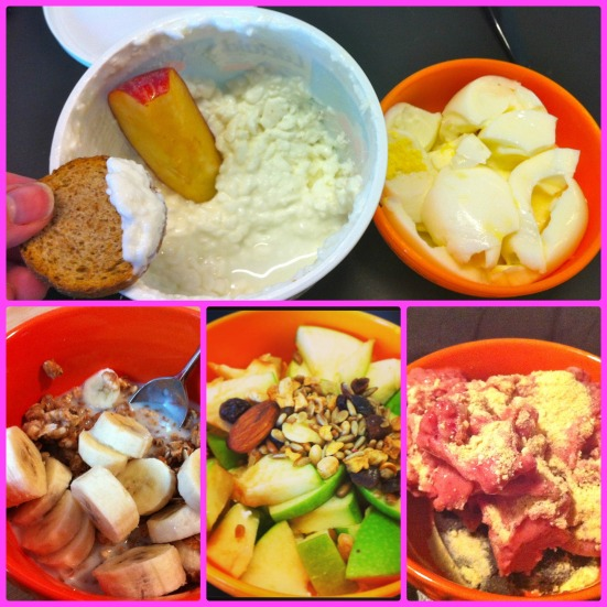 Snack + Breakfast Bowls via Fitful Focus