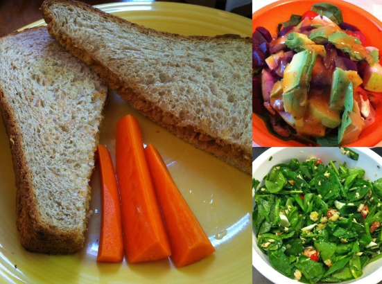 Weekly Eats #7 Salads and Sandwiches via Fitful Focus