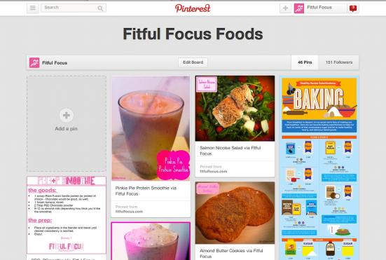 Fitful Focus Pinterest