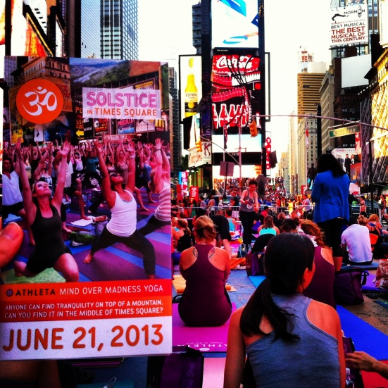Times Square Summer Solstice via Fitful Focus