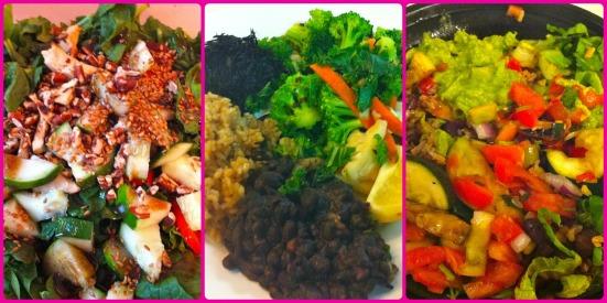 Salad Bowls via Fitful Focus