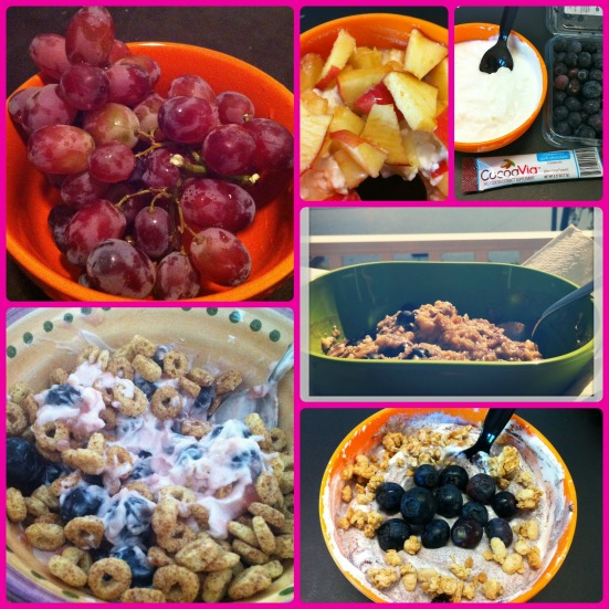 Snack and Breakfast Bowls via Fitful Focus