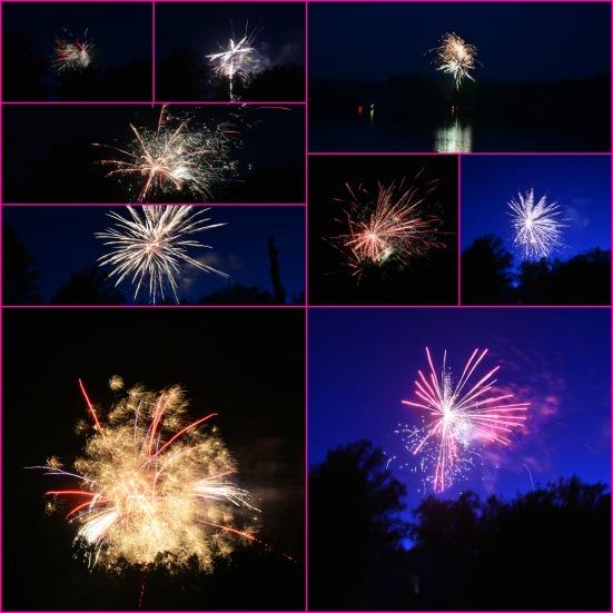 Fireworks via Fitful Focus