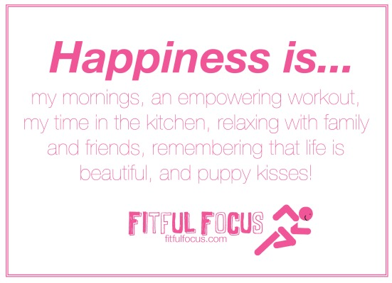 Happiness Is via Fitful Focus