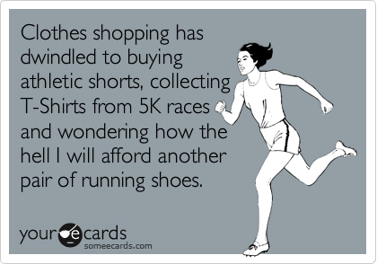 Running Shoes Ecard via Fitful Focus
