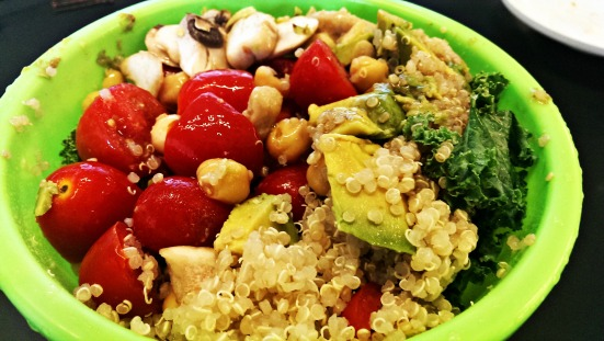 Protein Packed Power Salad via Fitful Focus 2