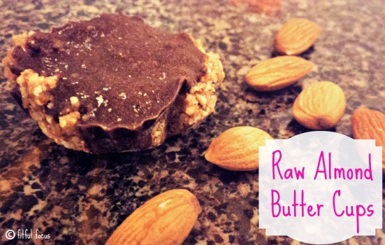 Raw Almond Butter Cups 2 via Fitful Focus