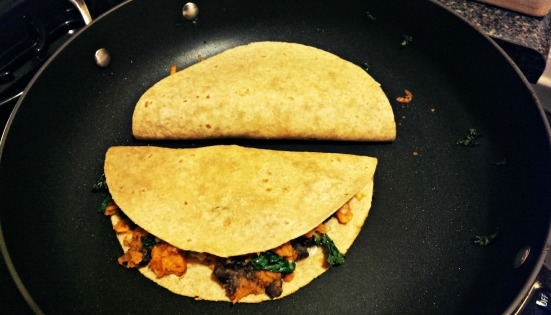 Sweet Chipotle Quesadillas via Fitful Focus2