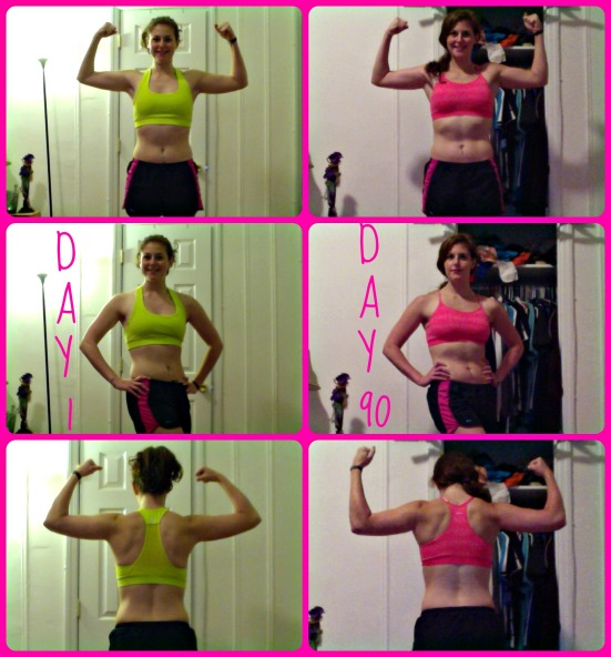 p90x results via fitful focus