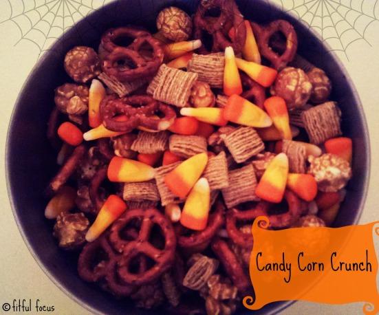 Candy Corn Crunch via Fitful Focus