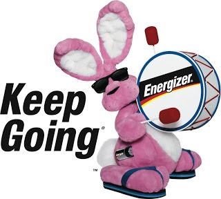 Energizer Bunny via Fitful Focus
