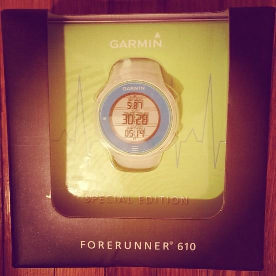 Garmin Forerunner 610 via Fitful Focus