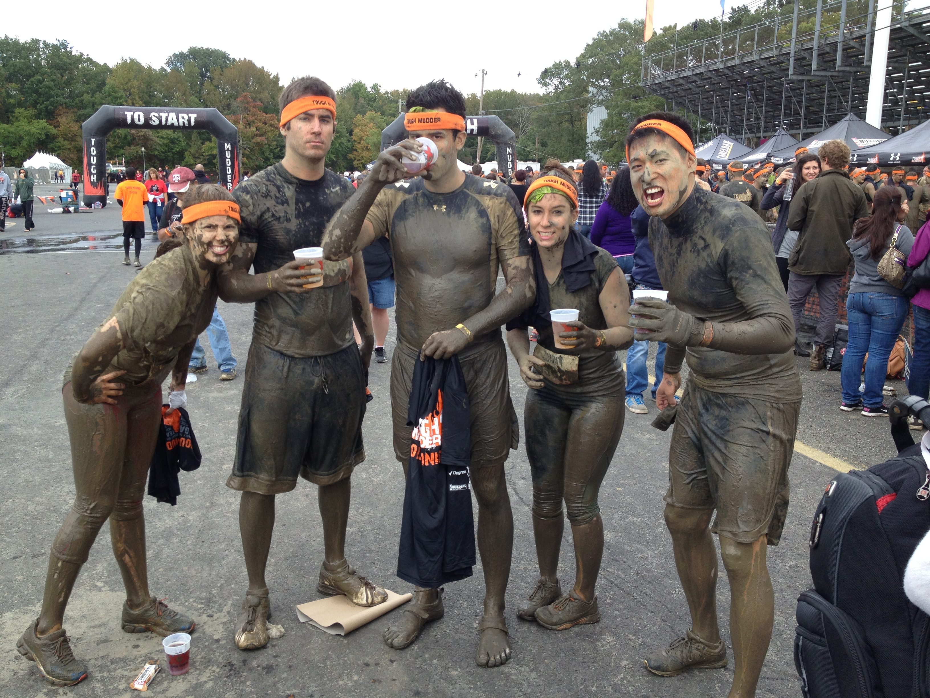 Tough Mudders! via Fitful Focus