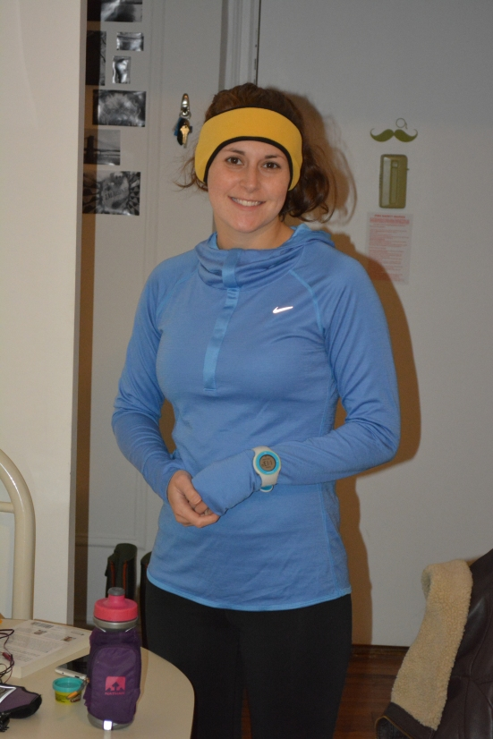 15 mile training run via Fitful Focus