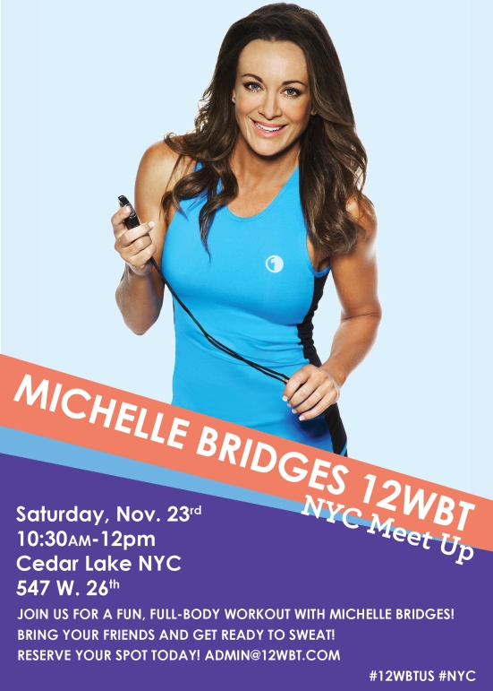 michelle bridges- nyc meet up