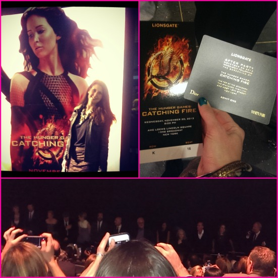 Catching Fire Premiere via Fitful Focus