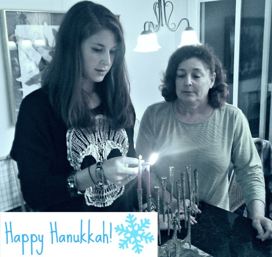 Happy Hanukkah via Fitful Focus