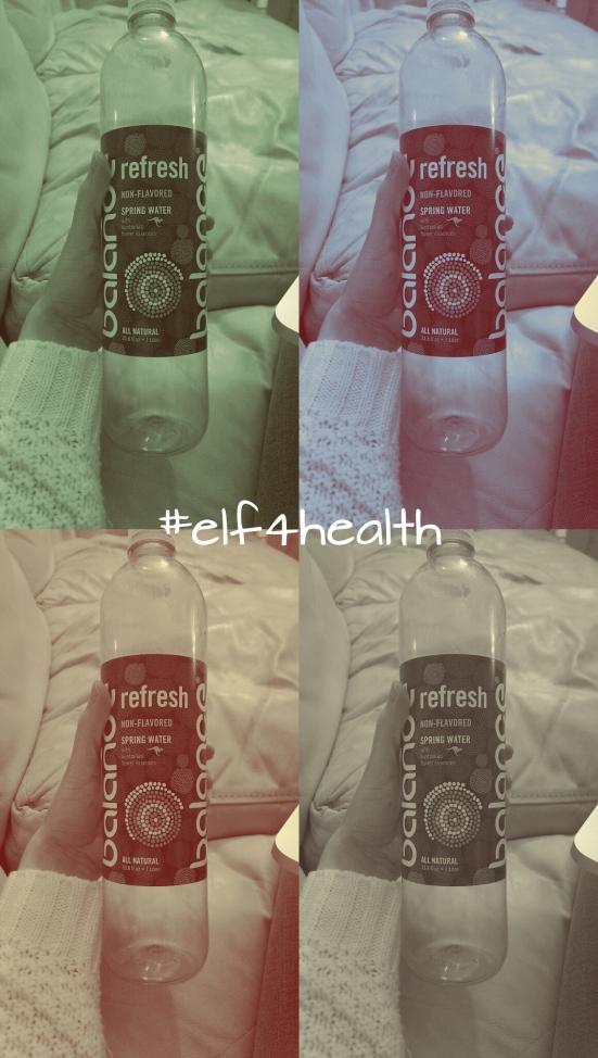 Elf4Health water intake via Fitful Focus
