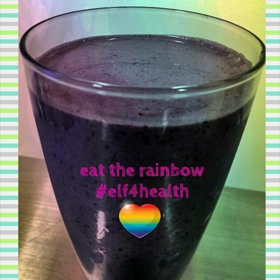 Elf4Health eat the rainbow via Fitful Focus